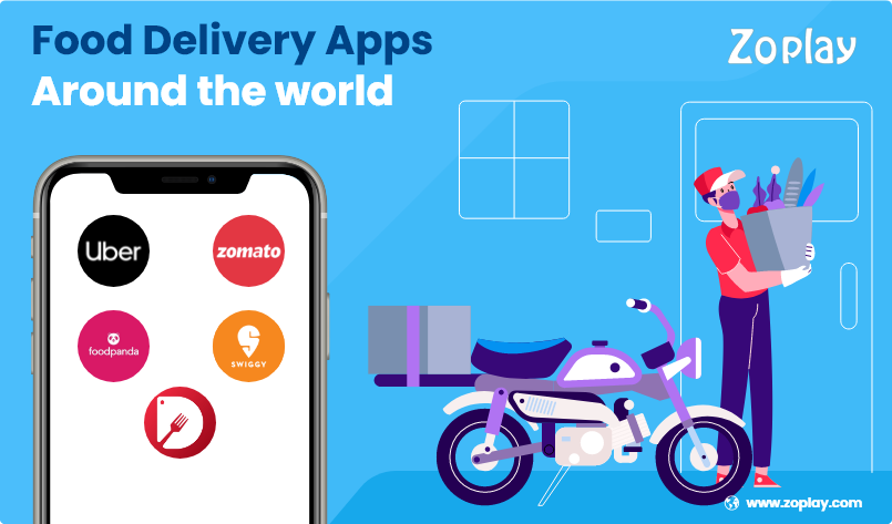 12 Thriving Food Delivery Apps Around the World
