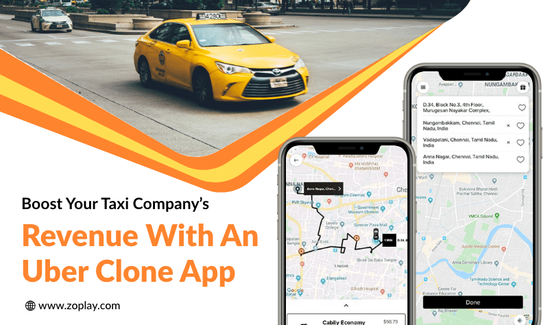 Boost Your Taxi Company's Revenue With An Uber Clone App