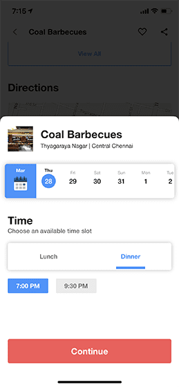 Just Eat clone, Feature-rich food ordering app