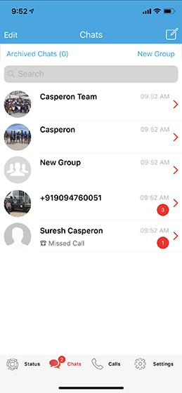WhatsApp Clone - Scimbo™ | Built-in Voice/Video Call | Best Chat App