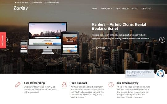 Airbnb Clone - Renters™   Site like Airbnb with Mobile Apps